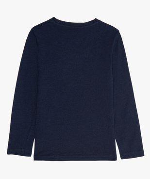 Tee-shirt garçon à manches longues avec motif XXL vue3 - GEMO C4G GARCON - GEMO