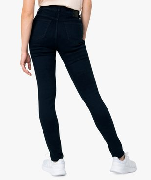 Jean femme coupe skinny 5 poches vue3 - GEMO(FEMME PAP) - GEMO