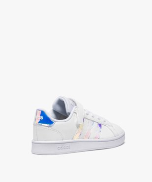 Baskets fille à détails irisés – Adidas Grand Court vue4 - ADIDAS - Nikesneakers