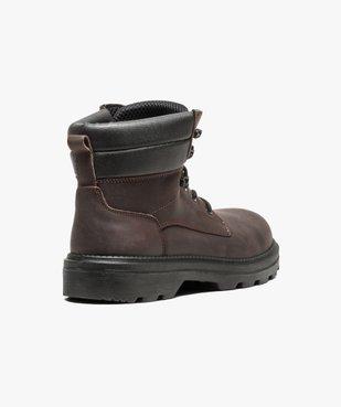 Chaussures hautes de sécurité avec semelle antistatique et résistante aux huiles vue4 - GEMO (SECURITE) - GEMO