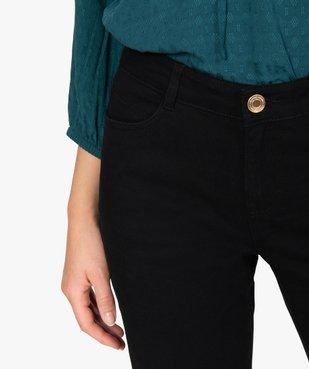Jean femme coupe regular taille normale noir vue2 - GEMO(FEMME PAP) - GEMO