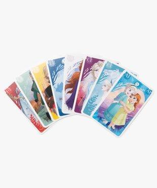 Jeu de cartes 4 en 1 Shuffle - La Reine des Neiges  vue2 - REINE DES NEIGE - GEMO