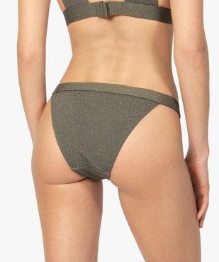 Bas de maillot de bain femme pailleté vue2 - GEMO (PLAGE) - GEMO