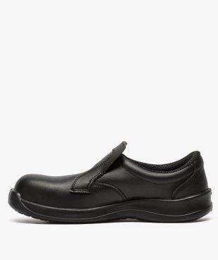 Chaussures de sécurité homme S2 forme mocassin vue3 - GEMO (SECURITE) - GEMO