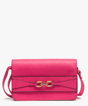 Sac femme forme besace compact vue1 - GEMO (ACCESS) - GEMO