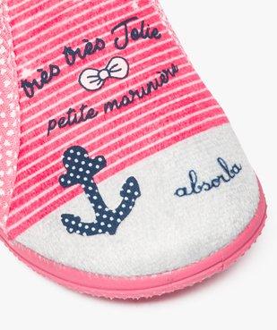 Chaussons bébé semelle intérieure cuir style marin - Absorba vue6 - ABSORBA - GEMO