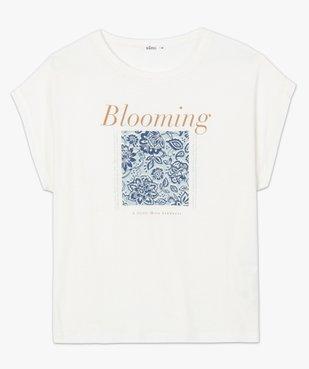Tee-shirt femme à manches courtes avec motif fleuri vue4 - Nikesneakers C4G FEMME - Nikesneakers