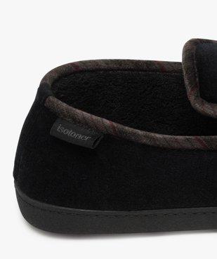 Chaussons homme pantoufles en velours - Isotoner Dessus velours ras vue6 - ISOTONER - Nikesneakers