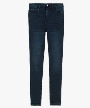 Jean femme skinny taille haute super stretch vue4 - GEMO(FEMME PAP) - GEMO