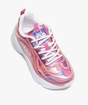 Chaussures de running fille irisées à lacets - Fila Alamo vue5 - FILA - Nikesneakers