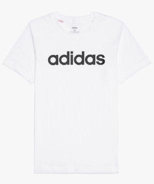 Tee-shirt garçon à manches courtes avec inscription - Adidas vue2 - ADIDAS - GEMO