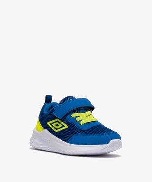 Chaussures de running garçon à scratch - Umbro vue2 - UMBRO - GEMO