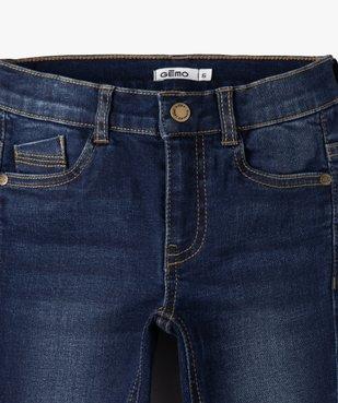 Jean garçon coupe skinny extensible 5 poches  vue2 - GEMO C4G GARCON - GEMO