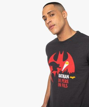 Tee-shirt homme à motif sur l'avant – Batman vue2 - BATMAN - GEMO