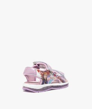 Sandales fille sport à semelle lumineuse - Reine des Neiges vue4 - REINE DES NEIGE - GEMO