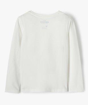 Tee-shirt fille à manches longues imprimé - Disney vue3 - DISNEY DTR - GEMO