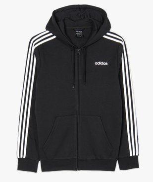 Sweat homme zippé à capuche - Adidas vue4 - ADIDAS - GEMO