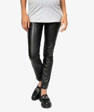 Pantalon femme ajusté bimatière vue1 - Nikesneakers (MATER) - Nikesneakers