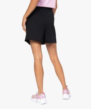 Short femme en maille ample à taille haute vue3 - GEMO(FEMME PAP) - GEMO