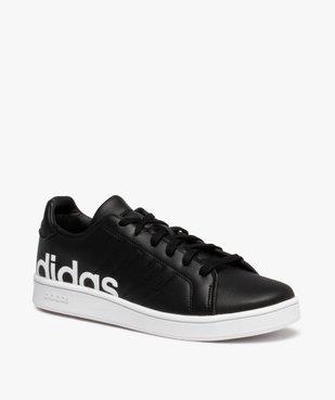 Baskets garçon unies logo – Adidas Grand Court LTS K vue2 - ADIDAS - Nikesneakers