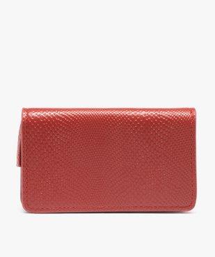 Porte-monnaie femme avec fermeture pression vue1 - GEMO (ACCESS) - GEMO