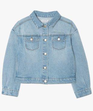 Veste fille en jean – Lulu Castagnette vue2 - LULUCASTAGNETTE - GEMO