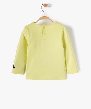 Tee-shirt bébé garçon avec inscription floquée – Lulu Castagnette vue3 - LULUCASTAGNETTE - GEMO