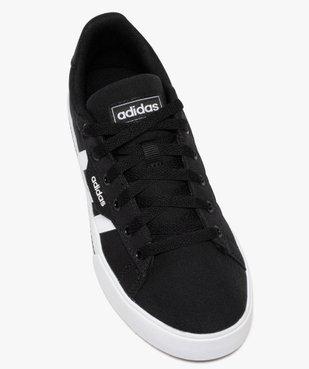 Baskets enfant en toile à lacets - Adidas Daily vue5 - ADIDAS - Nikesneakers