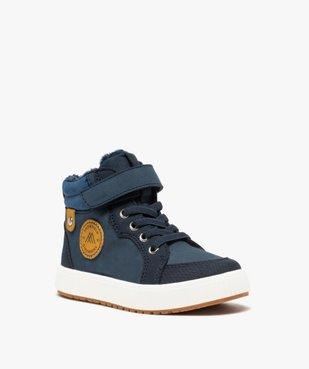 Boots garçon unies à col rembourré et doublure douce vue2 - Nikesneakers (ENFANT) - Nikesneakers