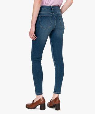 Jean femme skinny taille normale vue3 - GEMO C4G FEMME - GEMO