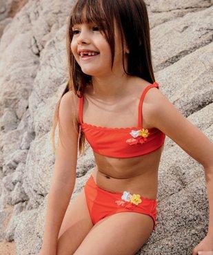 Maillot de bain fille avec fleurs multicolores vue6 - GEMO (ENFANT) - GEMO