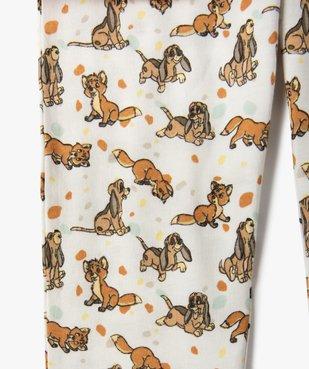 Pyjama fille avec motif Rox et Rouky - Disney vue2 - DISNEY DTR - Nikesneakers