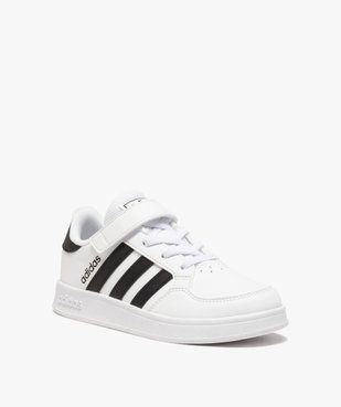 Baskets enfant à lacets et scratch – Adidas Breaknet vue2 - ADIDAS - Nikesneakers