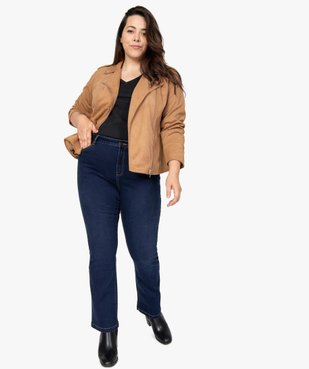 Jean femme coupe bootcut vue5 - GEMO (G TAILLE) - GEMO