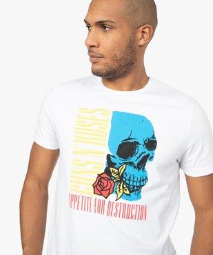 Tee-shirt homme manches courtes imprimé - Guns n' Roses vue1 - GUNS N' ROSES - GEMO