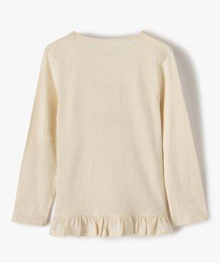 Tee-shirt fille long à manches longues avec motif – La Reine des Neiges vue3 - REINE DES NEIGE - Nikesneakers