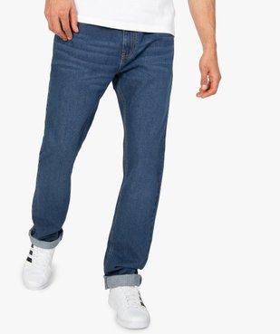Jean homme coupe Regular légèrement délavé  vue1 - Nikesneakers C4G HOMME - Nikesneakers