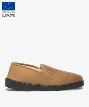Chaussons homme unis avec doublure chaude vue1 - THERITEX - Nikesneakers