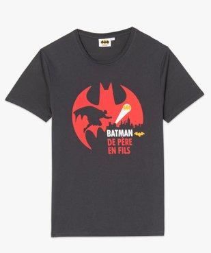 Tee-shirt homme à motif sur l'avant – Batman vue4 - BATMAN - GEMO
