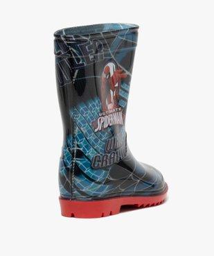Bottes de pluie garçon - Spiderman vue4 - SPIDERMAN - GEMO