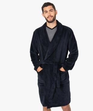 Robe de chambre peignoir pour homme vue1 - GEMO(HOMWR HOM) - GEMO