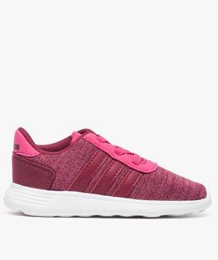 Basket fille multi-matière et lacets élastiques - Adidas vue1 - ADIDAS - GEMO