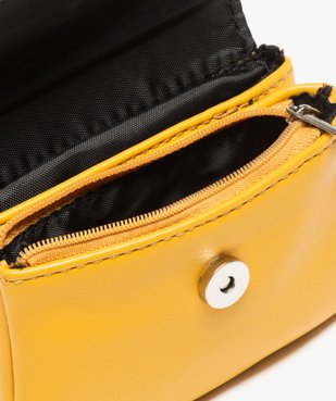 Porte-monnaie femme à soufflet vue3 - GEMO (ACCESS) - GEMO