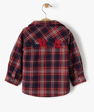 Ensemble 2 pièces bébé garçon : chemise + tee-shirt - Lulu Castagnette vue3 - LULUCASTAGNETTE - GEMO
