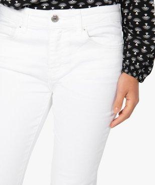 Jean femme coupe Slim longueur 7/8ème vue2 - GEMO(FEMME PAP) - GEMO