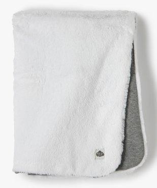 Plaid matelassé pour bébé en jersey doublé peluche vue1 - GEMO(BB COUCHE) - GEMO