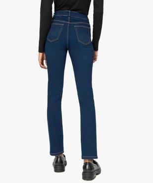 Jean femme slim taille haute brut - Longueur L30 vue3 - GEMO(FEMME PAP) - GEMO
