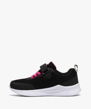 Chaussures de running fille bicolores à scratch - Umbro vue3 - UMBRO - GEMO