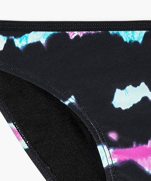Bas de maillot de bain fille à motifs colorés vue2 - GEMO (JUNIOR) - GEMO
