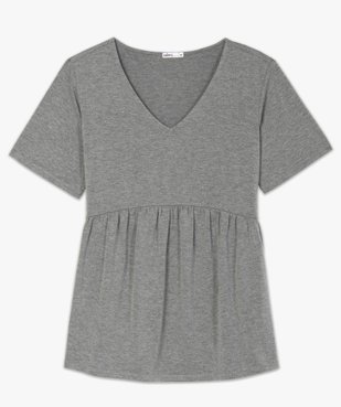 Tee-shirt de grossesse taille empire et manches courtes vue4 - Nikesneakers (MATER) - Nikesneakers